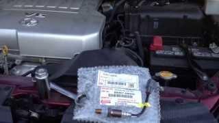 Toyota Sienna p0031 air fuel sensor replace