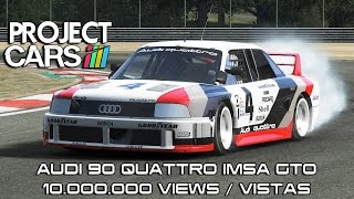 Project CARS - Audi 90 Quattro IMSA @ Zolder - 10.000.000 Views/Vistas(, 2015-07-28T15:00:44.000Z)