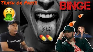 TRASH or PASS! Machine Gun Kelly (BINGE EP) [FULL REACTION/REVIEW]