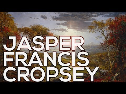 Jasper Francis Cropsey: A collection of 256 paintings (HD)