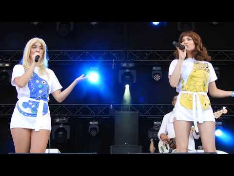 ABBA Tribute Band Live @ Cult&Tumult 2017 - Waterloo