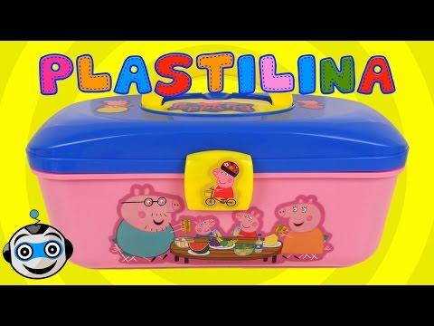 Maletín Picnic de Plastilina de Peppa Pig