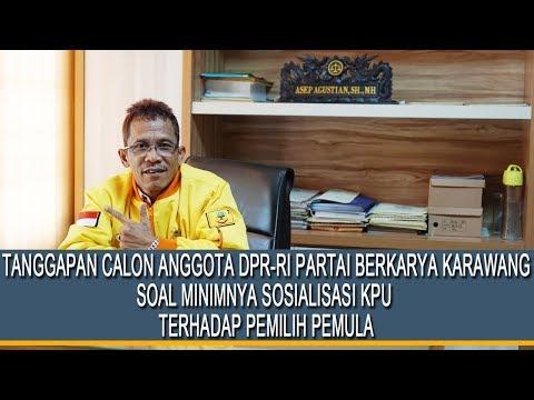 Kang Askun : KPU Karawang Bohong !!!