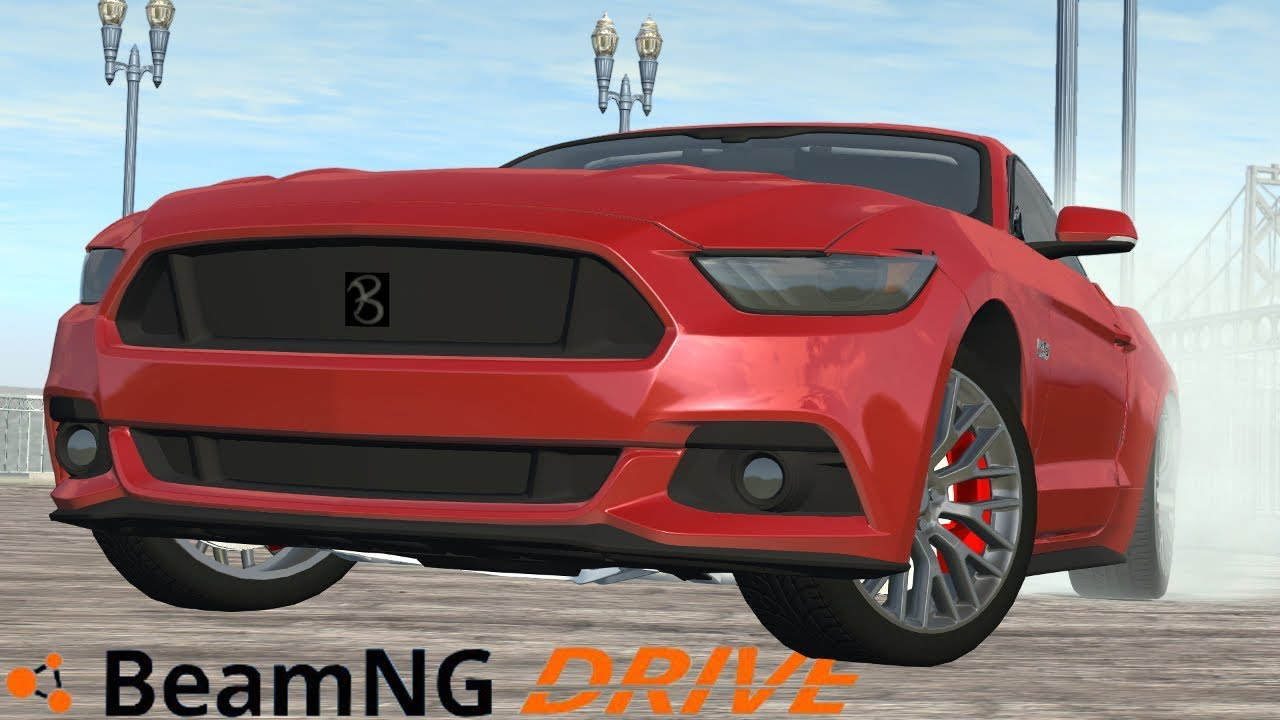 Beamng drive i ford mustang gt 1068 alpha