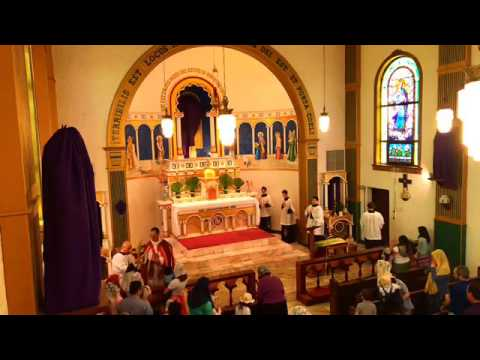 Palm sunday : Jesus and Mary chapel SSPX el Paso Tx