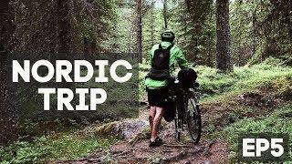 На велосипеде по Норвегии. Горы, леса, холода и дожди. Nordic Trip ep5