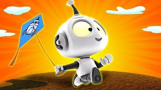 Rob the Robot |  Fly A Kite | Preschool Learning Videos for Kids by Oddbods & Friends