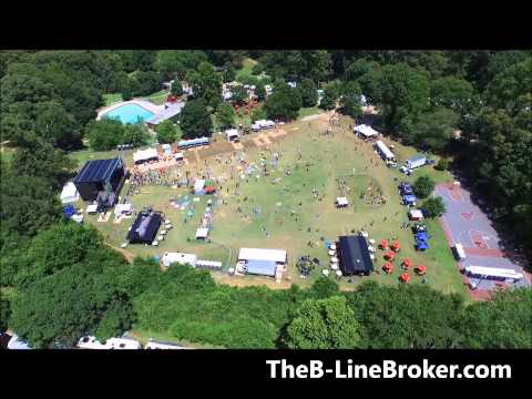 Candler Park Music and Food Festival Drone Video