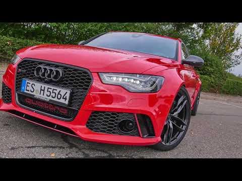#Hellride: HGP Audi RS6 (C7) Avant (810 PS) - #reddevil in Action - incl. 0-100 & 0-200 km/h
