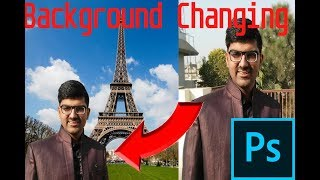 Background Changing in Adobe Photoshop