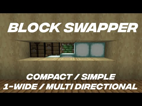 New Block Swapper Design (Compact, Tileable, Multi-Directional)
