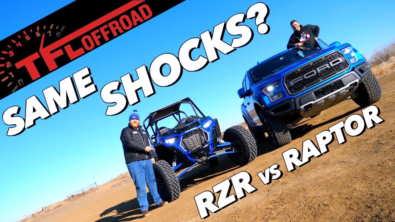 2019 Ford Raptor vs Polaris RZR Turbo S: Truth About Active Shocks by Fox