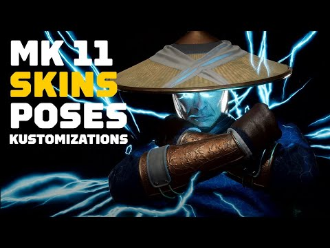 Mortal Kombat 11: All Skins, Intro, and Victory Options So Far in 4K 60FPS