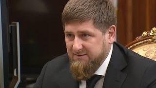 Кадыров рассказал Путину о снижении безработицы в Чечне