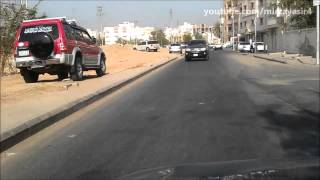 Test Driving Nissan Sunny 2004 - Video in Jeddah