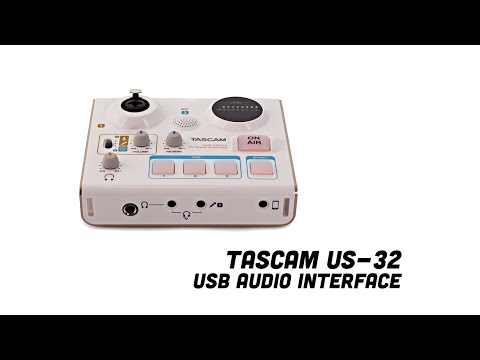 The Tascam US032 USB Audio Interface Review