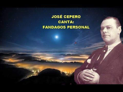JOSÉ CEPERO   FANDANGOS PERSONALES   RAFAEL HIDALGO