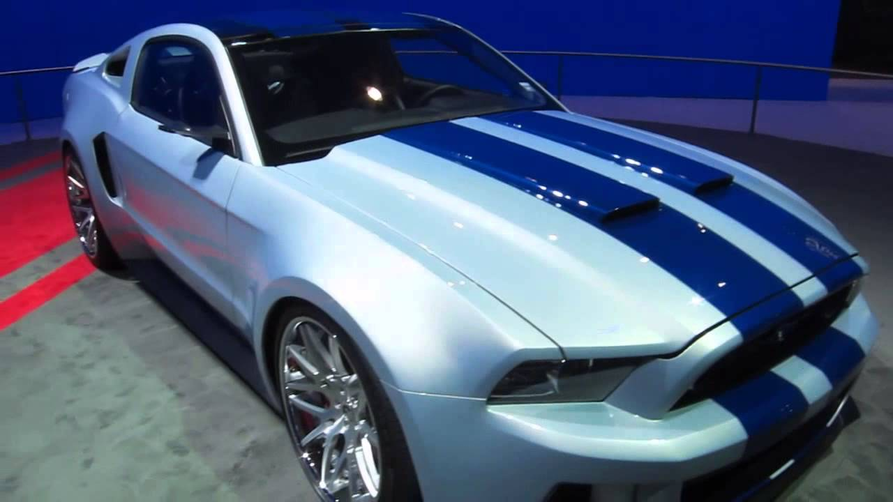Ford Mustang With 900HP From NEED FOR SPEED Movie At LA Auto Show 2013 By KrekiLA