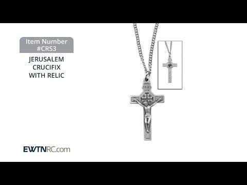CRS3_JERUSALEM CRUCIFIX WITH RELIC