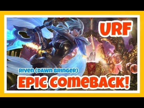 "URF: EPIC COMEBACK! (league of legends ""PINOY"" Funny/Epic Moments) ft. Penance"