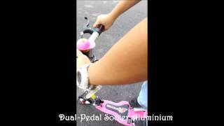 Dual Pedal Scooter Aluminnium