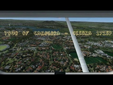 Tour of Canberra - Cessna 172SP