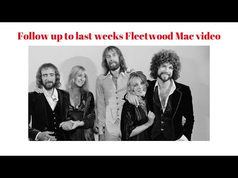Follow up to last weeks Fleetw fleetwood mac