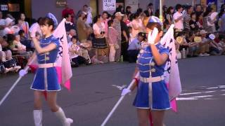 中川金魚まつり2011  パレード  名古屋市消防音楽隊