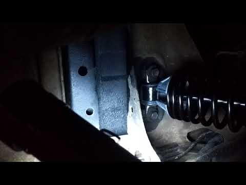 2003 S10 rear coilovers shock install - YouTube
