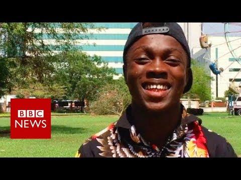 Ghanaian animal imitator has Guinness World Record ambitions - BBC News