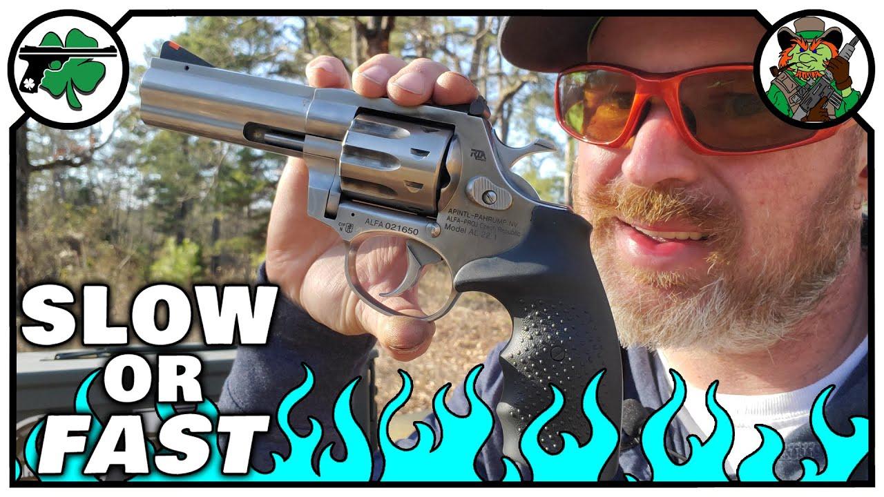 Subsonic -VS- High Velocity in the Rock Island Armory AL22 Revolver