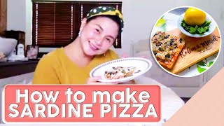 HOW TO MAKE SARDINE PIZZA [EASY RECIPE]