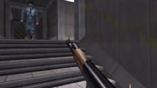 Goldeneye 007 - Full 100% Playthrough : Bunker 2 on Agent