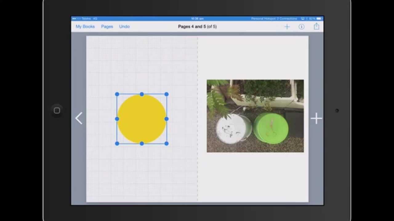 2D math investigation Book Creator