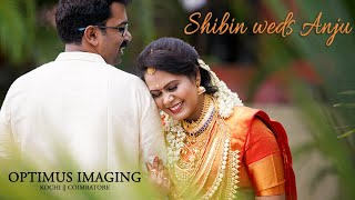 The Love Story || Shibin Weds Anju || Optimus Imaging ||