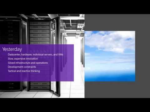Microsoft Ignite 2015 Windows Server & System Center Futures—Bring Azure to your Datacenter Platform
