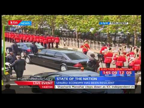 President Uhuru Kenyatta's State of the Nation address in Parliament