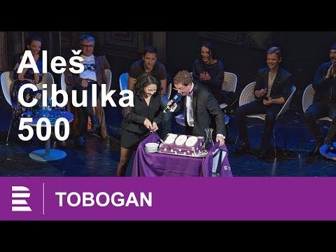 Tobogan 500 Aleše Cibulky. Exkluzivně i s Lucií Bílou