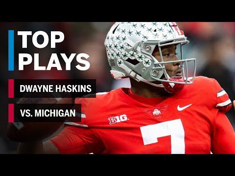 Top Plays: Dwayne Haskins Tosses Five TDs in Win Over Michigan | Ohio State | Big Ten Football