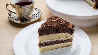 Торт сметанный. Самый вкусный и нежный рецепт
