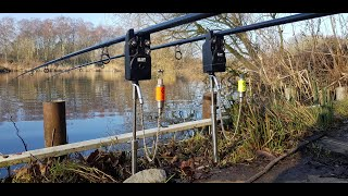 Winter Carp Fishing Day Session 8 Hours on the Snooker Table Digger Dan the Wrecking Man