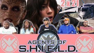 "Agents Of Shield  2 x 21 Reaction! ""S.O.S Part 1"""