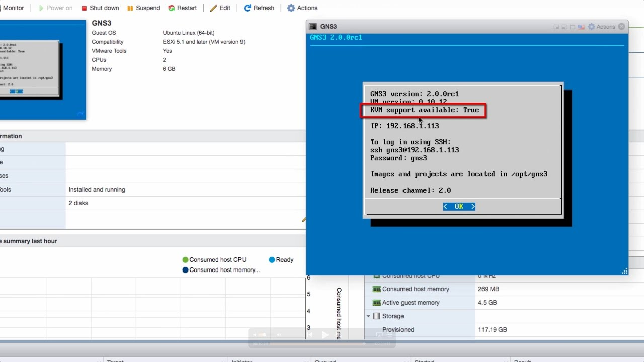 GNS3 Talks: ESXi, GNS3 VM and KVM support Part 1: leverage servers and the  cloud
