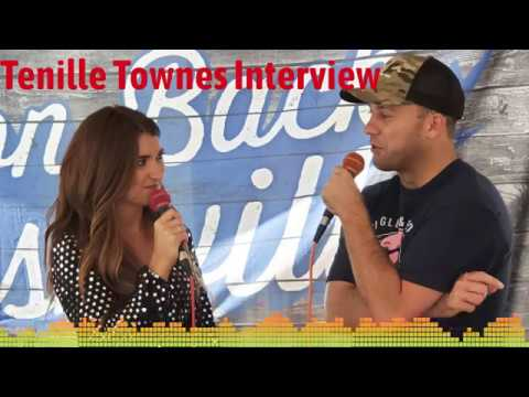Corey Calhoun - Caught Up With Tenille Townes Backstage At The Dierks Bentley Tour!