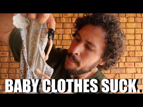 BABY CLOTHES SUCK.