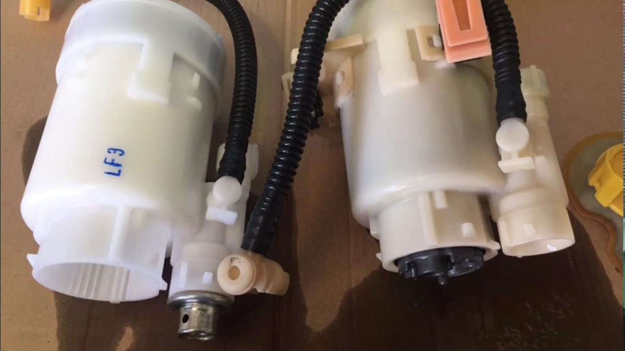 hyundai i30 petrol intank fuel filter replacement [ 1280 x 720 Pixel ]