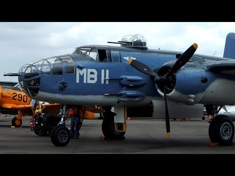 Take a Flight In the only flying PBJ-1J Mitchell Bomber B-25