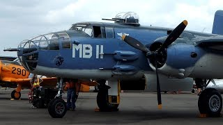 """Take a Flight In the only flying PBJ-1J Mitchell Bomber B-25 """"Semper Fi"""" Camarillo Airport CAF SoCal"""