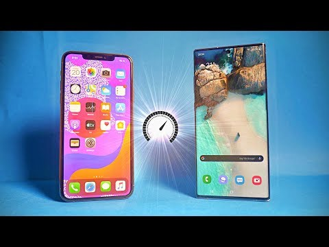 iPhone 11 Pro Max vs Samsung Galaxy Note 10 Plus - Speed Test! (SURPRISE 🔥)