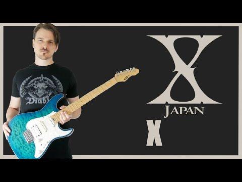 X japan - X (Guitar cover HD)